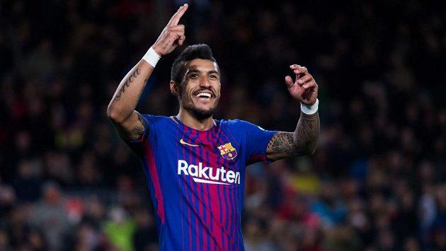 Brazilec Paulinho opouští Barcelonu.