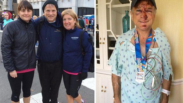 Mark Washburne nevypadal po pádu nejlépe, ale stejně druhý den běžel opět.