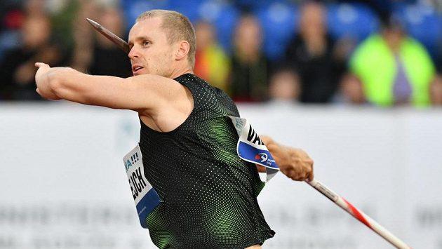 Jakub Vadlejch vyhrál na Zlaté tretře oštěpařskou soutěž.