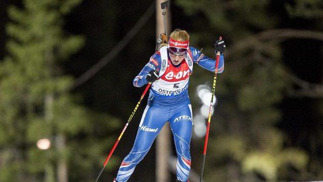 Biatlonistka Gabriela Soukalová obsadila v Östersundu při úvodním individuálním startu v sezóně Světového poháru páté místo.