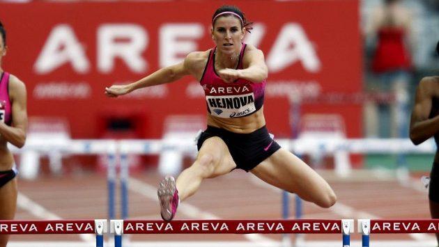 Zuzana Hejnová si v Paříži běží pro český rekord na 400 m překážek.