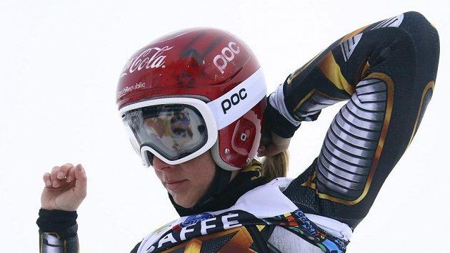 Ester Ledecká v Aare.
