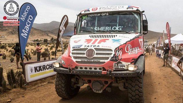 S novým motorem bude Tatra Queen 69 ještě lepší, než ta z letošního Dakaru.