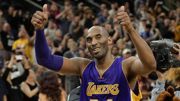 Kobe Bryant se loučí s fanoušky Los Angeles