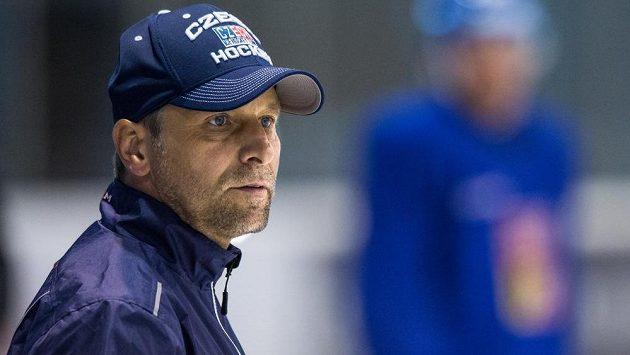 Trenér české hokejové reprezentace Josef Jandač.
