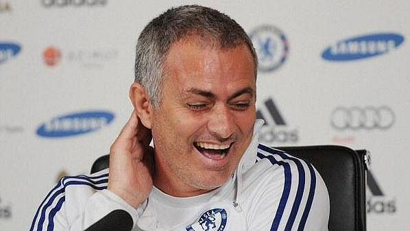 José Mourinho ještě v roli kouče Chelsea.