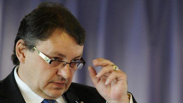 Předseda ČSLH Tomáš Král.