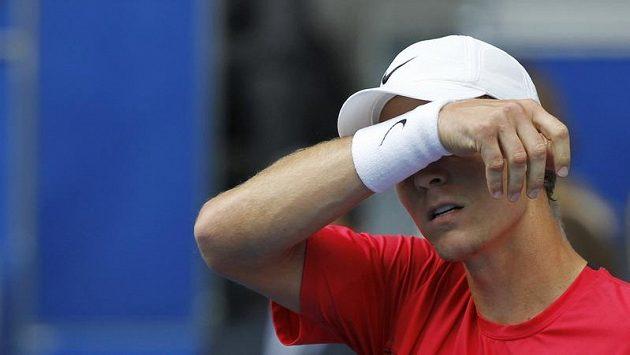 Zklamaný tenista Tomáš Berdych