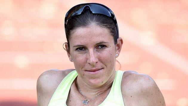 Běžkyně Zuzana Hejnová.