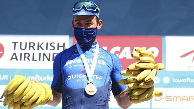 Britský cyklista Mark Cavendish na závodě Kolem Turecka vyhrál třetí etapu za sebou
