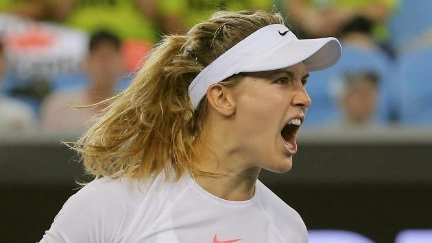 Kanadská tenistka Eugenie Bouchardová.