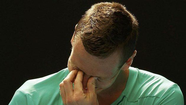 Zmar a zklamání. Tomáš Berdych recept na Rogera Federera ve čtvrtfinále Australian Open nenašel.