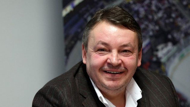 Předseda Českého svazu ledního hokeje Tomáš Král