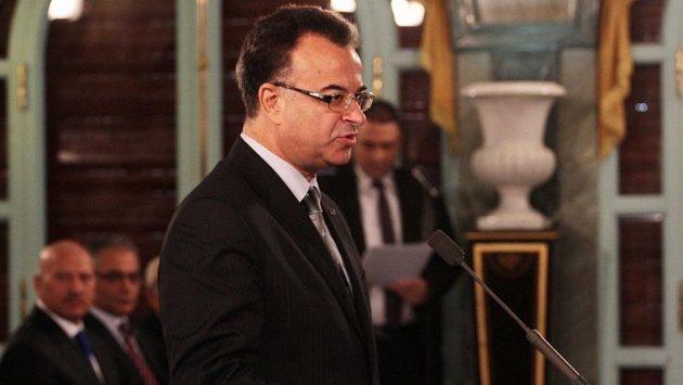 Tuniský ministr zdravotnictví Slim Chaker.