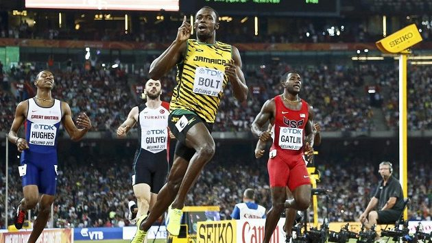 Usain Bolt z Jamajky