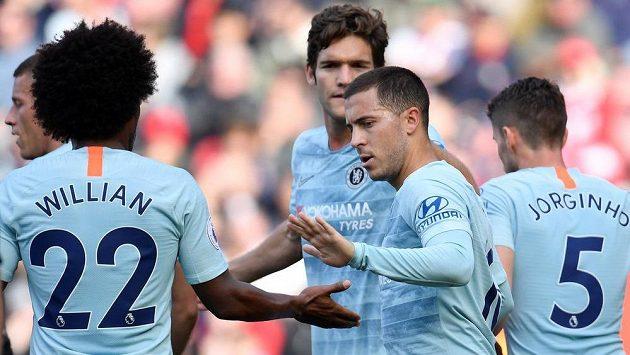 Fotbalisté Chelsea slaví, vyhráli na půdě Southamptonu 3:0.