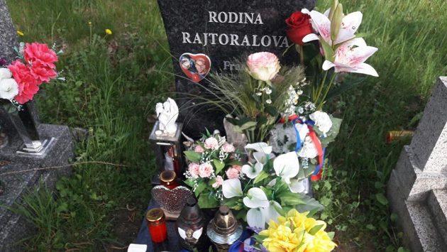 Hrob Františka Rajtorala v Příbrami