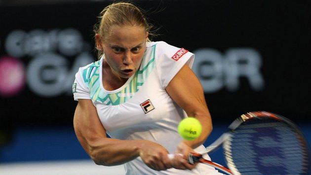 Jelena Dokicová ještě v dobách svého působení na okruhu WTA.