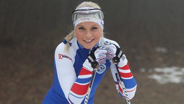 Běžkyně na lyžích Barbora Havlíčková.