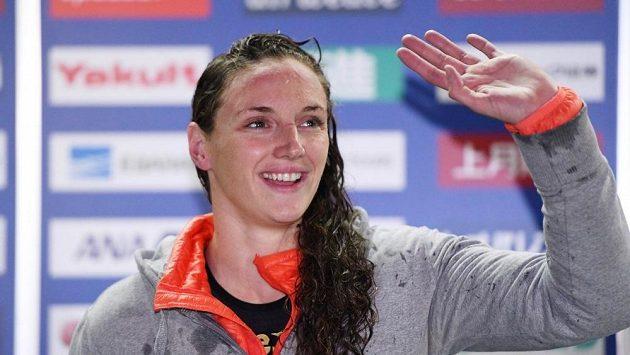 Maďarská plavkyně Katinka Hosszúová