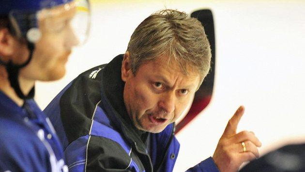 Novým trenérem hokejistů Slavie Praha byl jmenován Dušan Gregor.