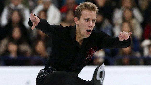 Michal Březina na mistrovství světa v Helsinkách.