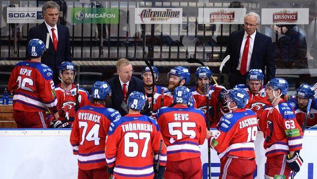 Hokejisté Lva Praha - ilustrační foto.