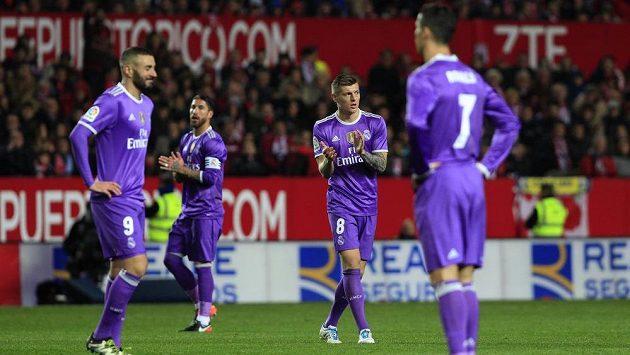 Fotbalisté Realu Madrid - ilustrační foto.