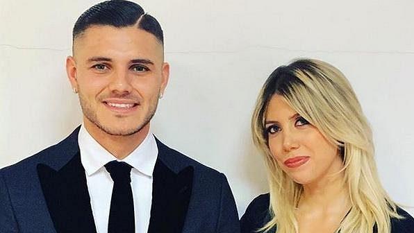 Mauro Icardi a jeho žena Wanda Narová