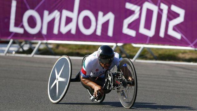 Bývalý pilot formule 1 Alessandro Zanardi na paralympijských hrách v Londýně