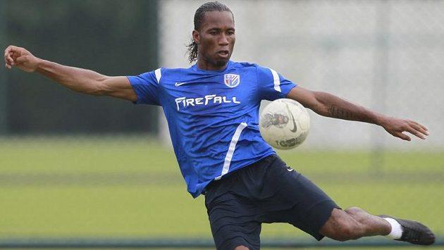 Didier Drogba v novém dresu