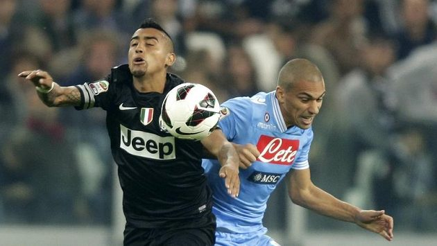 Paolo Cannavaro z Neapole (vpravo)