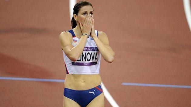 Česká sprinterka Zuzana Hejnová bezprostředně po finiši ve finále běhu na 400 metrů překážek nemohla uvěřit, že vybojovala bronzovou medaili.