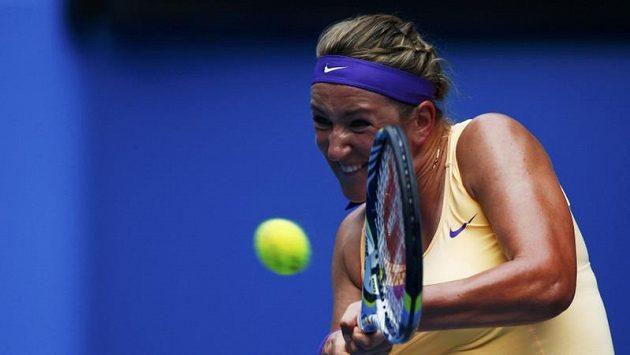 Světová jednička Viktoria Azarenková hladce prošla do třetího kola Australian Open.