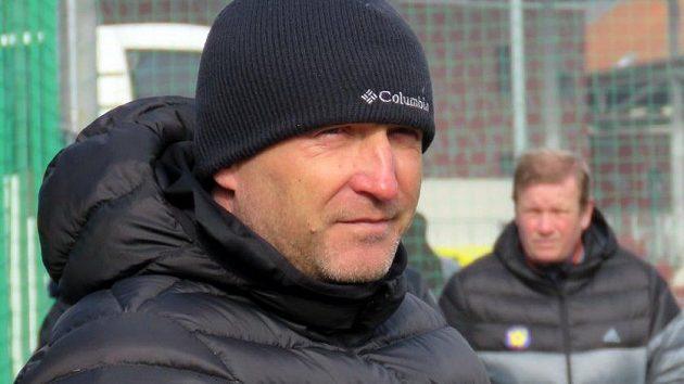 Aleš Křeček, trenér fotbalistů Vysočiny Jihlava.