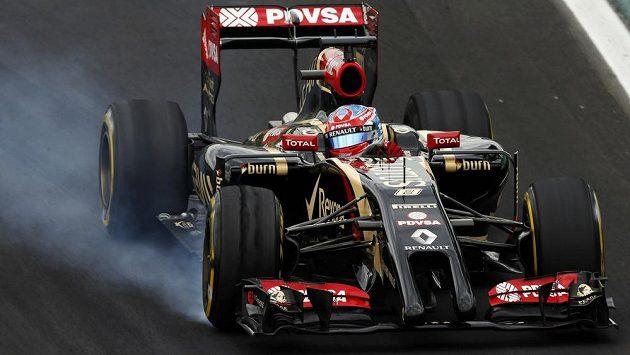 Pilot F1 Romain Grosjean zůstává i pro příští sezónu v Lotusu.
