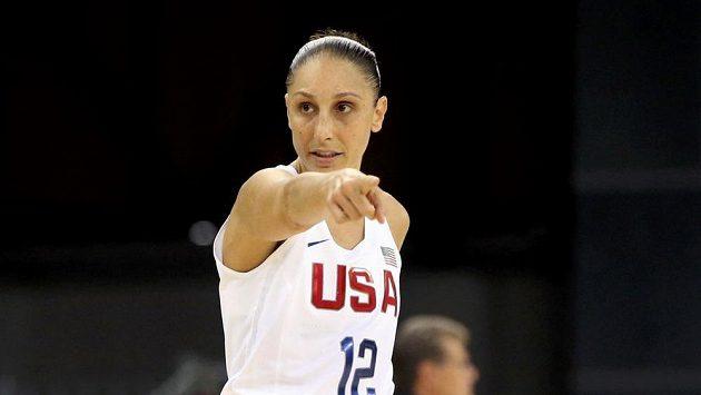 Americká basketbalistka Diana Taurasiová.