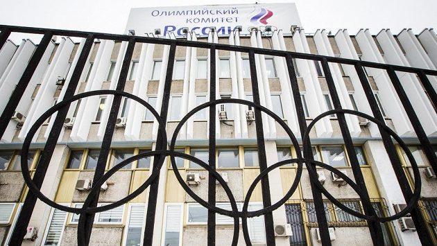 Budova Ruského olympijského výboru v Moskvě - ilustrační foto.