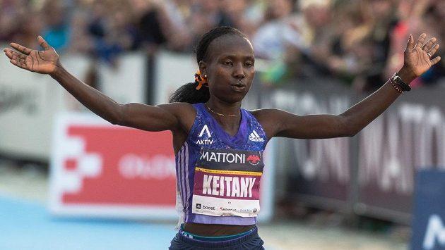 Mary Keitany, jedna z nejrychlejších vytrvalkyň světa.