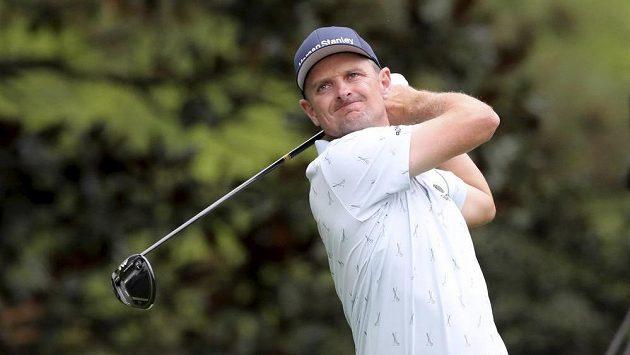 Justin Rose při golfovém Masters v Augustě.