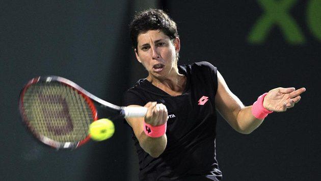 Španělská tenistka Carla Suárezová si na turnaji v Miami zahraje finále.