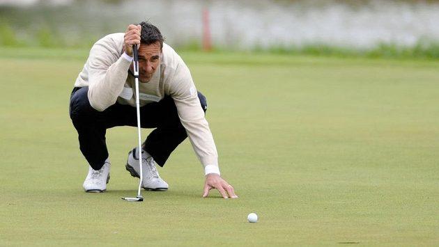 Bývalý desetibojař Roman Šebrle zkouší rozjet golfovou kariéru.