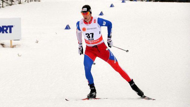 Martin Jakš při závodu ve Falunu.