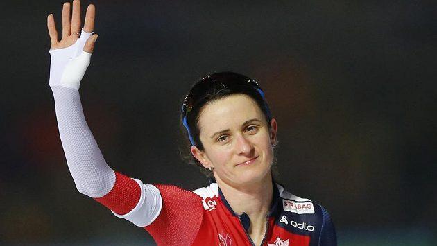 Rychlobruslařka Martina Sáblíková obsadila na mistrovství světa ve víceboji šesté místo.