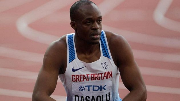 Britský sprinter Dasaolu sháněl na operaci peníze od dárců