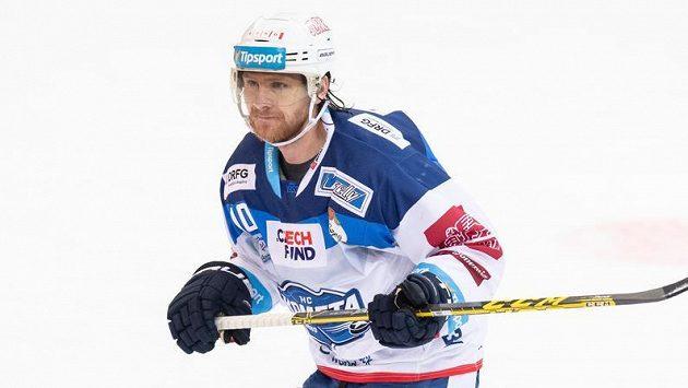 Martin Erat z Brna během utkání se Spartou.