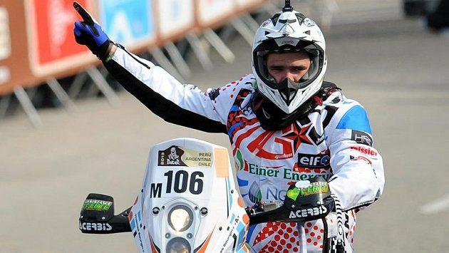 Thomas Bourgin z Francie se stal další obětí slavného závodu Rallye Dakar.