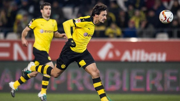 Obránce Borussie Dortmund Mats Hummels. Ilustrační foto.