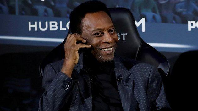 Legendární brazilský fotbalista Pelé.