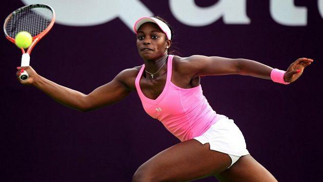Americká tenistka Sloane Stephensová prohrála ve druhém kole turnaje v Dauhá s Klárou Zakopalovou.